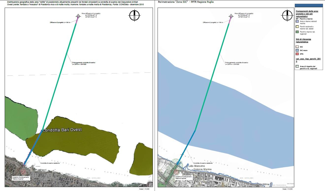 Prolungamento condotta sottomarina Bari Ovest