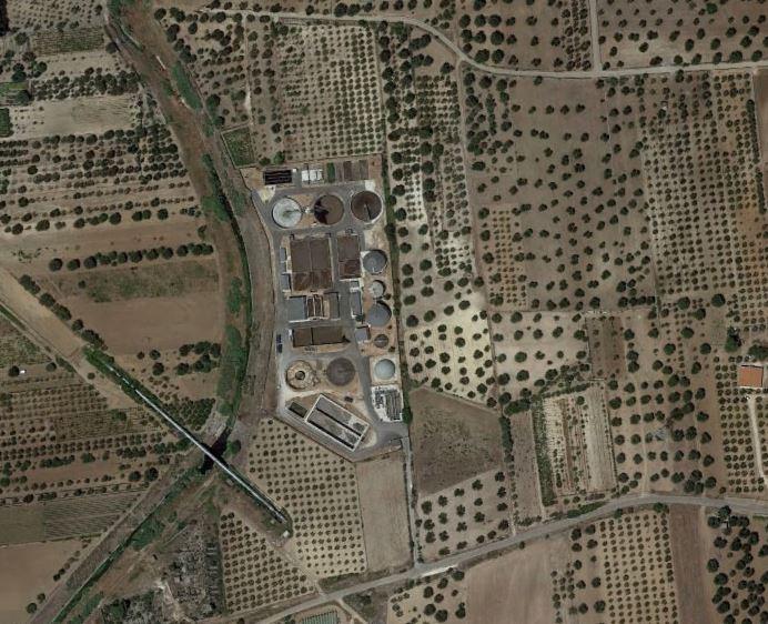 Progetto per la costruzione di silos per carico e scarico di fanghi disidratati ed opere impiantistiche connesse all'inserimento nelle linee di processo esistenti